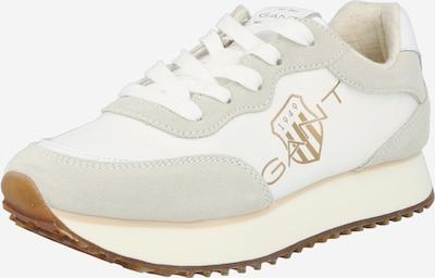 GANT Sneaker in gold / hellgrau / weiß, Produktansicht