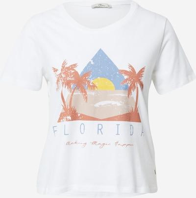 LTB Shirts 'BILOZE' i røgblå / gul / hummer / hvid, Produktvisning
