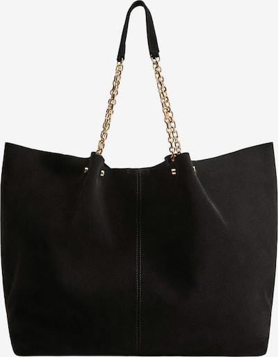 MANGO Shopper 'Macine' in schwarz, Produktansicht