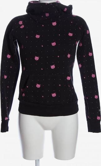 MOGUL Kapuzensweatshirt in S in pink / schwarz, Produktansicht