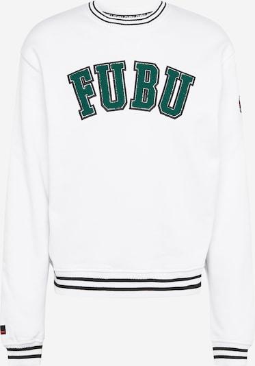FUBU Majica | smaragd / črna / bela barva, Prikaz izdelka