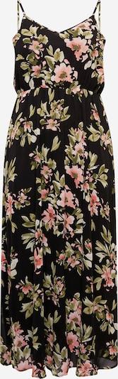 ABOUT YOU Curvy Kleid 'Emelie' in mischfarben / schwarz, Produktansicht