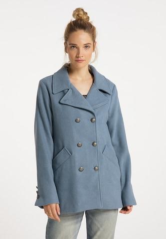 DreiMaster Vintage Mantel in Blau