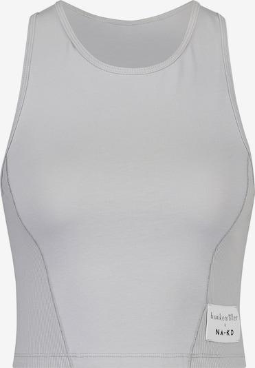 Camicia da notte 'Avia' hunkemöller x NA-KD di colore grigio chiaro, Visualizzazione prodotti
