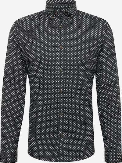 SHINE ORIGINAL Hemd in schwarz / weiß, Produktansicht