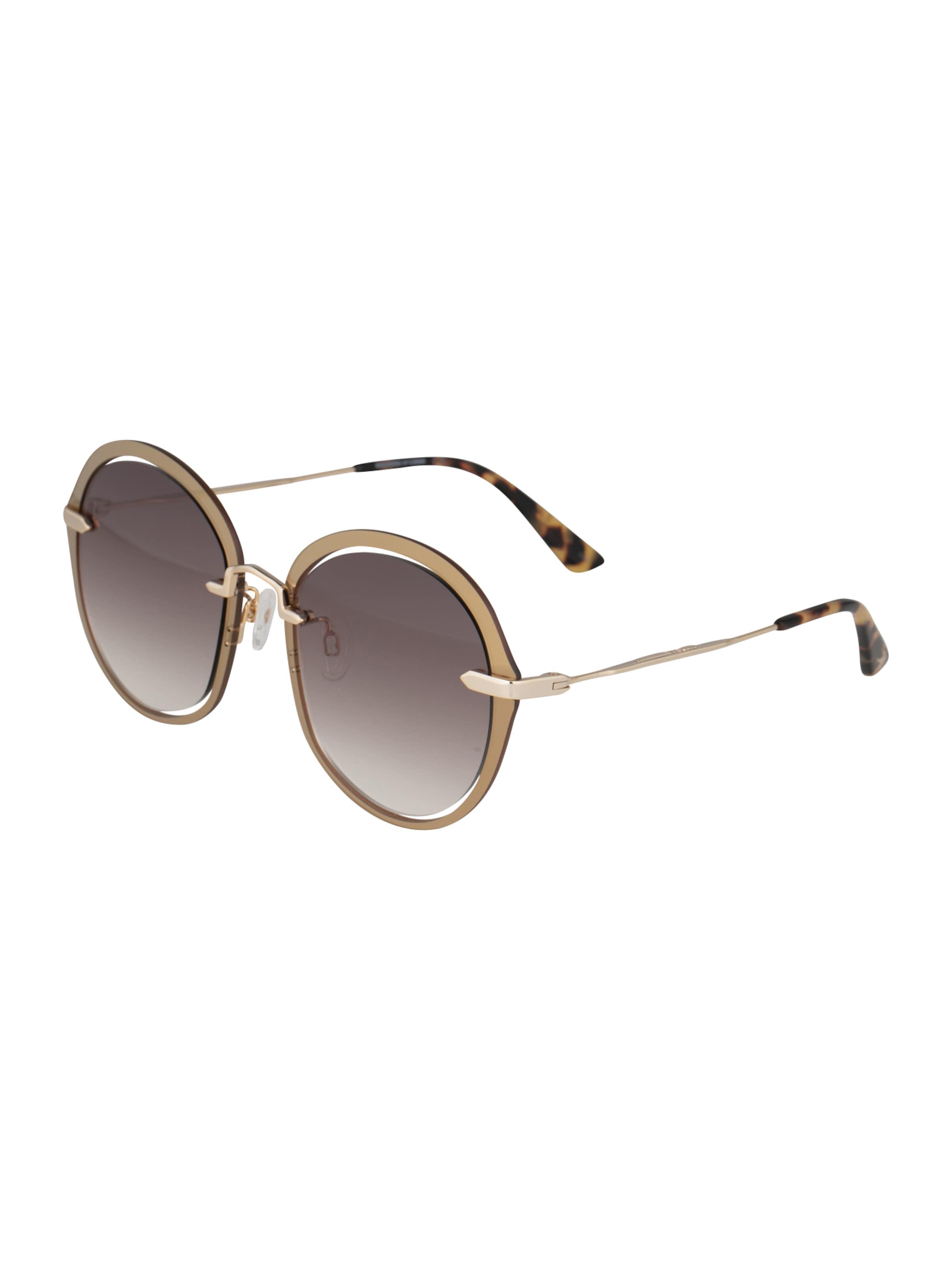 McQ Alexander McQueen Solglasögon i brun / guld