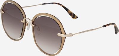 McQ Alexander McQueen Zonnebril in de kleur Bruin / Goud, Productweergave