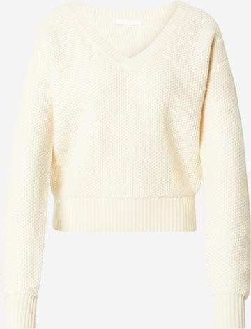BOSS Pullover 'Fantine' in Weiß