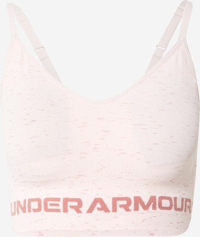 UNDER ARMOUR Sports Bra 'Seamless' in Dusky pink / Light pink, Item view