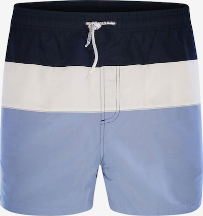bugatti Badeshorts ' Alrik ' in hellblau / dunkelblau / weiß, Produktansicht