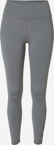 NIKE Спортен панталон в сиво