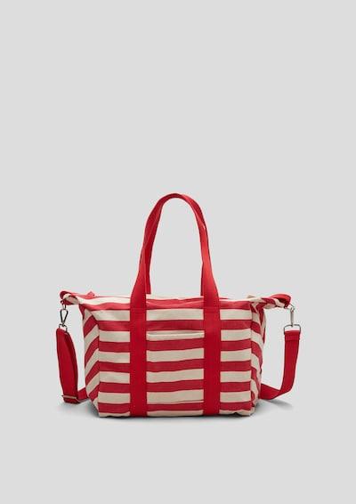 s.Oliver Shopper in beige / rot, Produktansicht