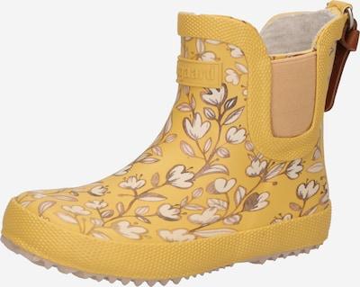 Guminiai batai iš BISGAARD, spalva – tamsi smėlio / karamelės / garstyčių spalva / pudros spalva / balta, Prekių apžvalga