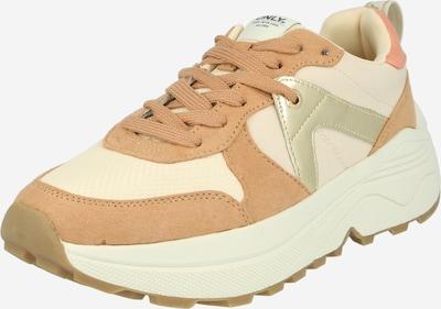 Sneaker bassa 'SYLVIE' ONLY di colore nudo / oro / rosé, Visualizzazione prodotti