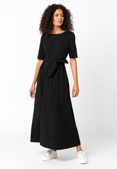 HALLHUBER Maxikleid in schwarz, Modelansicht