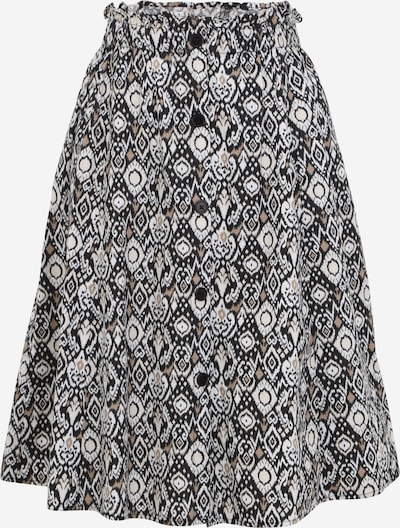 OVS Rock in braun / schwarz / weiß, Produktansicht