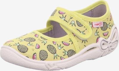 SUPERFIT Pantofle 'BELINDA' - žlutá / světle zelená / pink / černá, Produkt