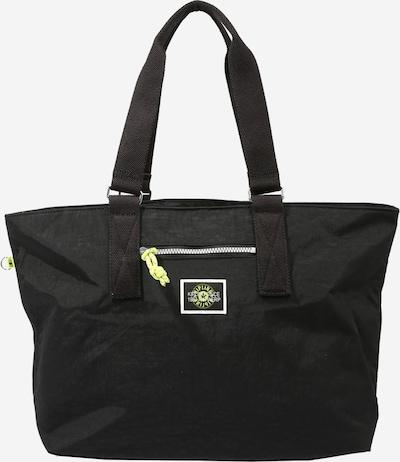 Pirkinių krepšys 'Jody' iš KIPLING, spalva – neoninė žalia / juoda / balta, Prekių apžvalga