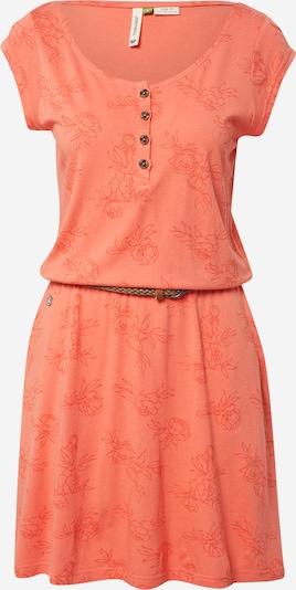 Ragwear Kleid 'Zephie' in koralle / orangerot, Produktansicht