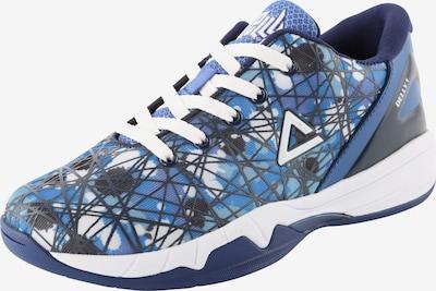 PEAK Basketballschuh mit Print in blau / mischfarben, Produktansicht