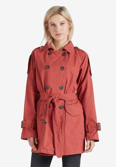 khujo Mantel ' INESSA ' in rot, Modelansicht