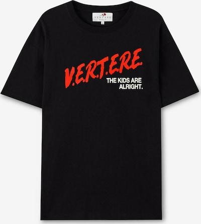 Vertere Berlin Shirt in de kleur Oranjerood / Zwart / Wit, Productweergave