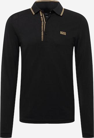 BOSS ATHLEISURE Skjorte 'Pleesy' i svart