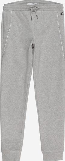 Calvin Klein Jeans Kalhoty - šedý melír / černá / bílá, Produkt