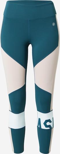 ASICS Sportbroek in de kleur Blauw / Rosa, Productweergave