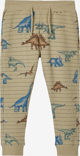 Pantaloni NAME IT di colore sabbia / blu / marrone / verde, Visualizzazione prodotti