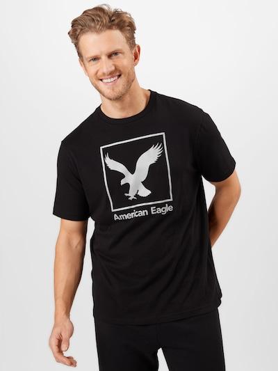 Marškinėliai iš American Eagle , spalva - juoda / balta, Modelio vaizdas