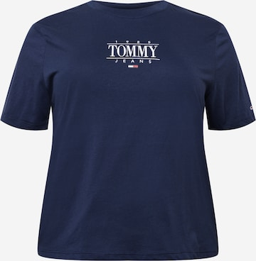 Tommy Jeans Curve Shirt in Blau