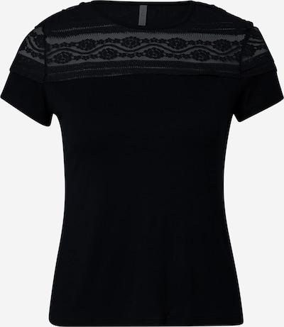 Tricou 'Sammy' Hailys pe negru, Vizualizare produs