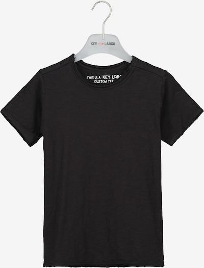 Key Largo T-Shirt 'BT BREAD' in schwarz, Produktansicht