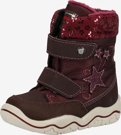 Pepino Stiefel 'Finja' in burgunder / kirschrot, Produktansicht