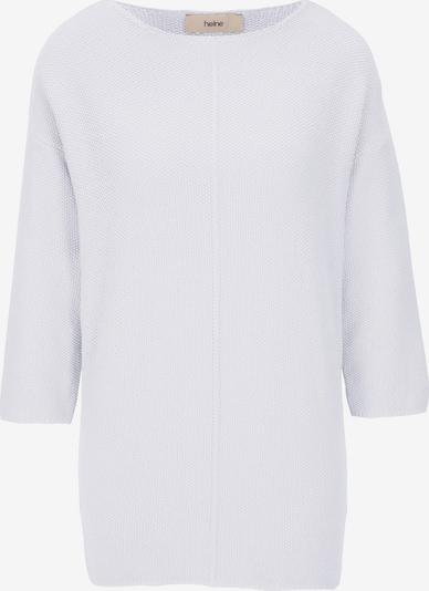 heine Pull-over oversize en blanc, Vue avec produit