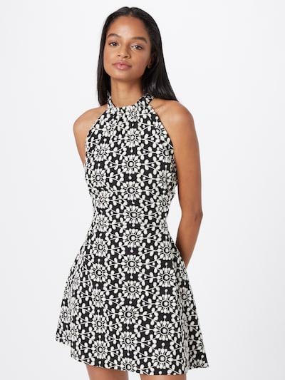 Bardot Kleider 'Havana' in schwarz / weiß, Modelansicht