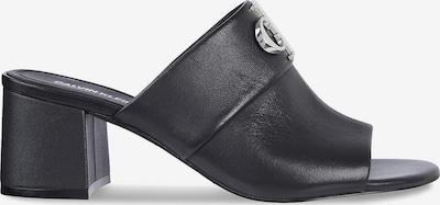 Calvin Klein Jeans Leather Mules in schwarz, Produktansicht