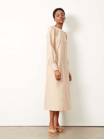 Aligne Kleid 'Caster' in beige, Modelansicht