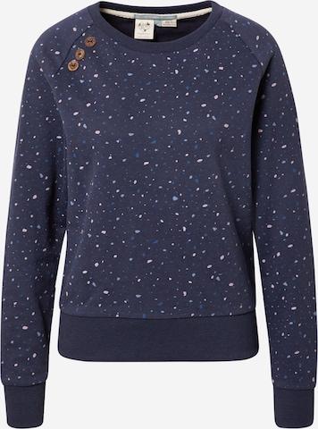 Ragwear Sweatshirt 'JOHANKA' i blå