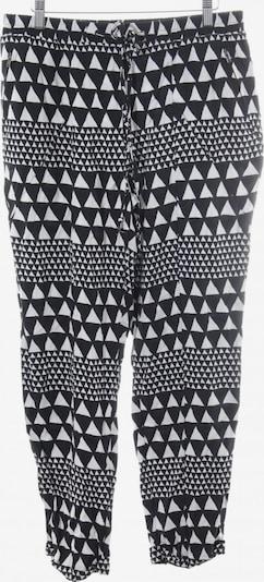 MINKPINK Stoffhose in L in schwarz / weiß, Produktansicht
