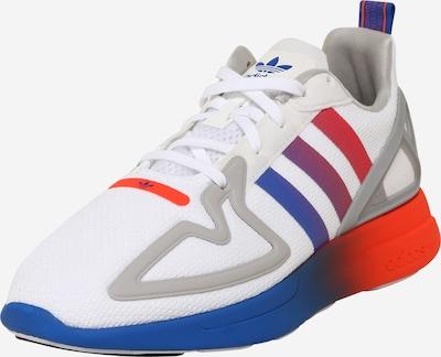 Sportbačiai be auliuko 'ZX 2K FLUX' iš ADIDAS ORIGINALS , spalva - mėlyna / rožinė / balta, Prekių apžvalga