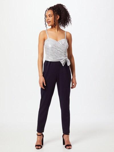Tuta jumpsuit 'INDIRA' Lauren Ralph Lauren di colore navy / argento, Visualizzazione modelli