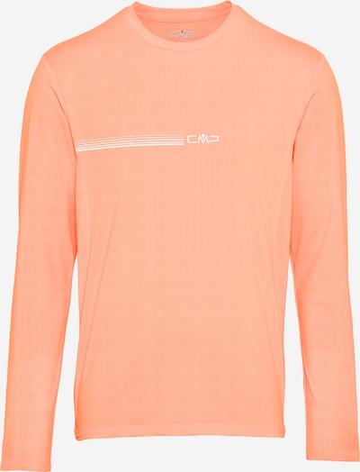 CMP Camiseta funcional en coral / blanco, Vista del producto