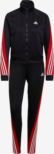 ADIDAS PERFORMANCE Anzug in rot / schwarz / weiß, Produktansicht