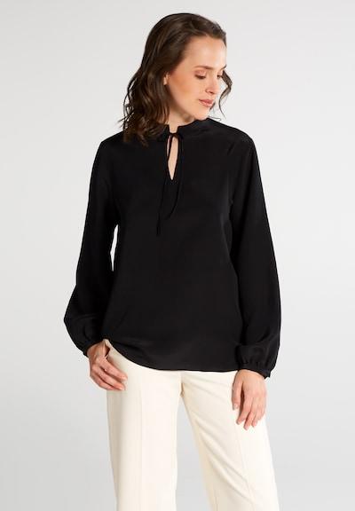 ETERNA Bluse in schwarz, Modelansicht