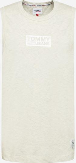Tommy Jeans Top in weißmeliert, Produktansicht