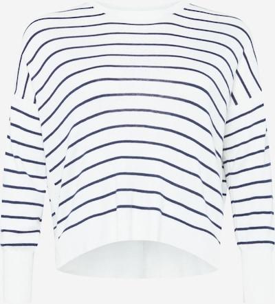 Forever New Curve Pullover in navy / weiß, Produktansicht