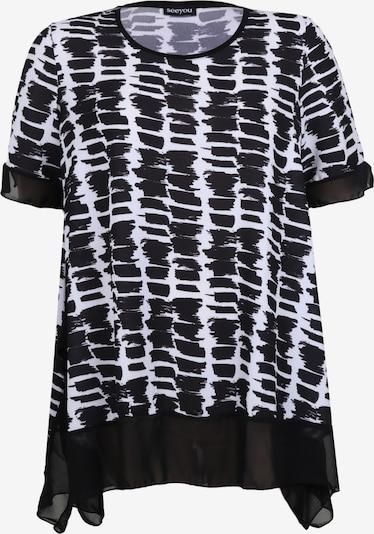 seeyou Tuniek in de kleur Zwart / Wit, Productweergave