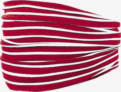 MAXIMO Écharpe en rouge / blanc, Vue avec produit